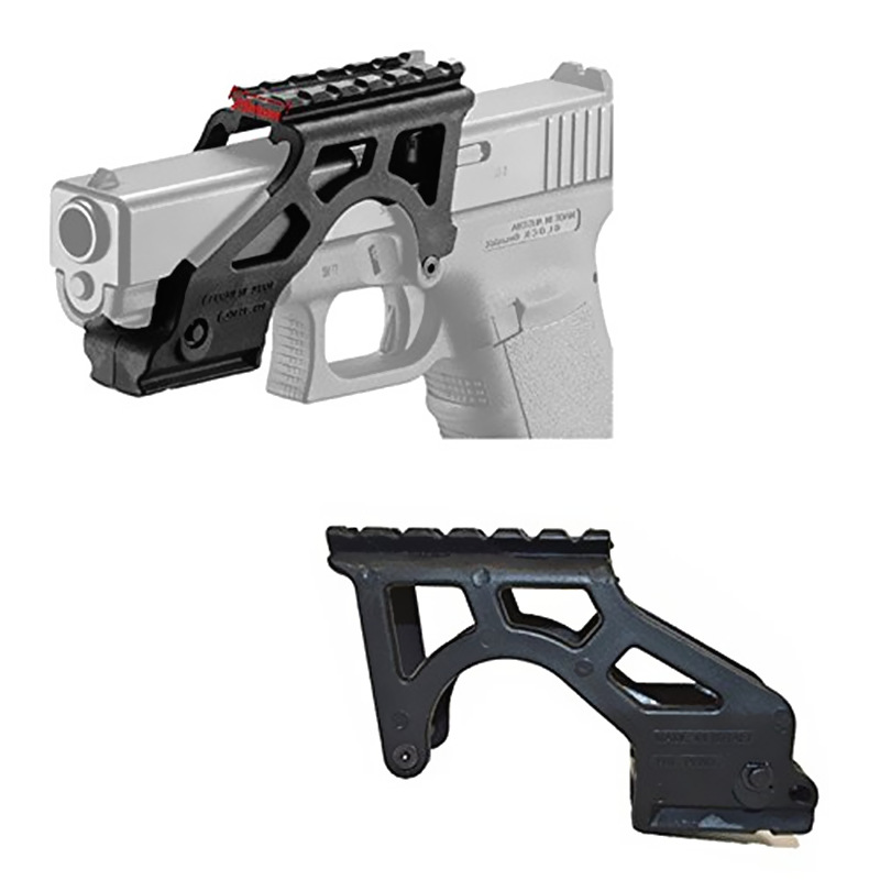 US $5 88 5% OFF|FIRECLUB Tactical Scope Mount Rail for Gen 3 & 4 Glock 17  19 20 21 22 23 34-in Scope Mounts & Accessories from Sports & Entertainment