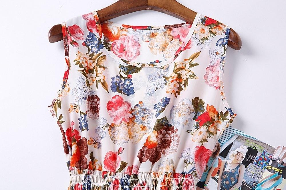 HTB1FNMXHFXXXXXjXpXXq6xXFXXX1 - Summer Women Dress Vestidos Print Casual Low Price