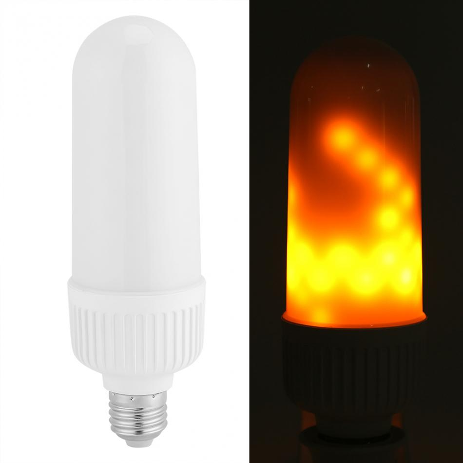 E27 2835SMD LED Light Bulb with Flickering Effect LED Flame Lamp 3W Decoration Lamp