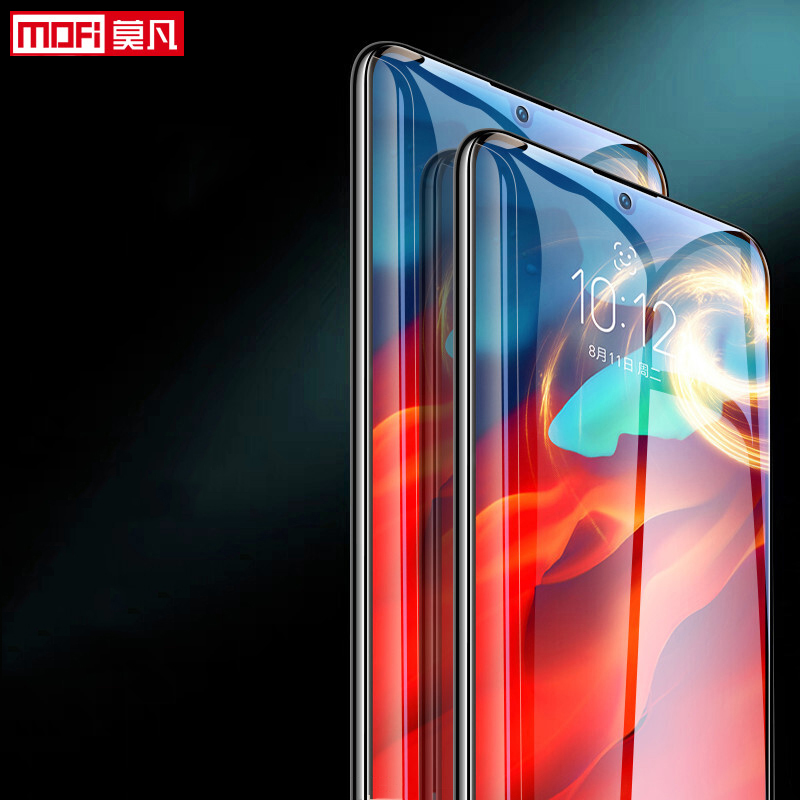 Image 2 - Lenovo Z6Pro Tempered Glass Screen Protector film 9H 2.5D Full Glue Full Cover Mofi Original Premium lenovo z6pro Tempered Glass-in Phone Screen Protectors from Cellphones & Telecommunications