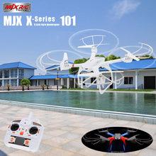купить MJX X101 2.4G 6-Axis Gyro Headless Mode One Key Return Flying Drone 3D Roll RC Quadcopter Aircraft VS JJRC H8D H11D H12C дешево