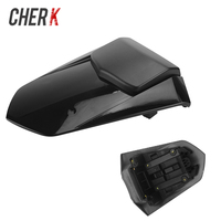Cherk Motorcycle Black Plastic Rear Seat Cover Cowl Fairing Pillion For Yamaha YZF R1 2007 2008 Motorcycle Accessories