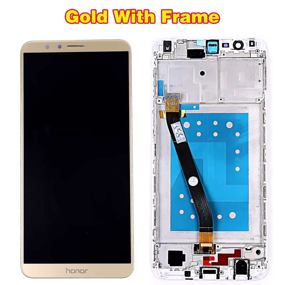 HTB1FNNgR9zqK1RjSZPcq6zTepXat Huawei Honor 7X BND-L21 BND-L22 BND-L24 5.93 inch LCD display For Mate SE Touch Screen Digitizer Assembly Frame With Free Tools