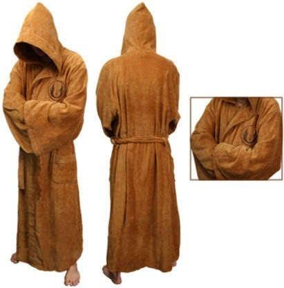 Star Wars Jedi Bath Robe roupão Coral do velo bordado Costume
