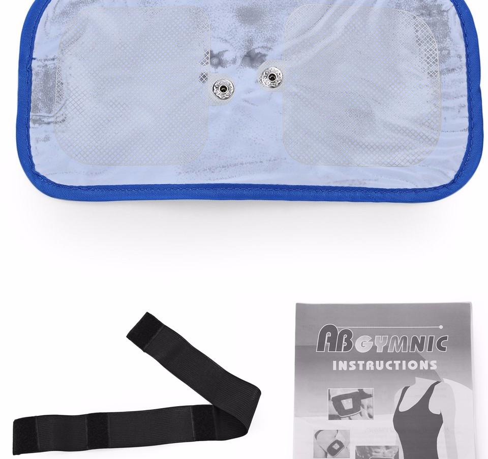 17 Slimming Electronic Belt Body Muscle Arm leg Waist Abdominal Massage Exercise Belt 7