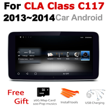 Car Android Radio GPS Multimedia player For Mercedes Benz CLA Class C117 2013~2014 NTG stereo HD Screen Navigation Navi Media
