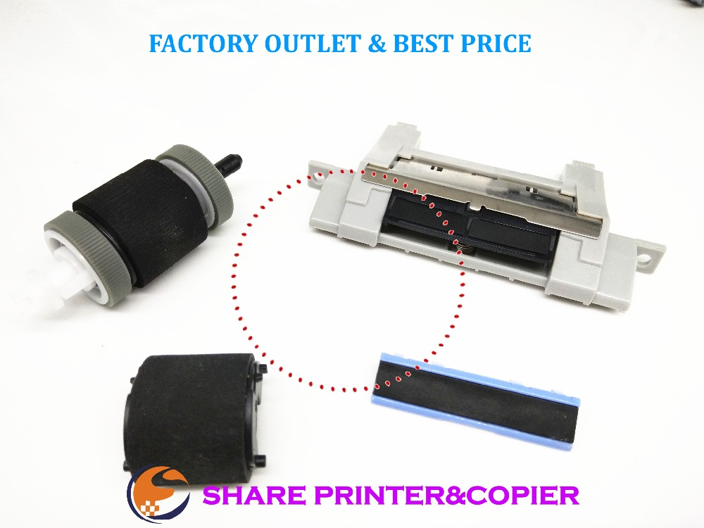 SHARE Replace Roller Kit for HP LaserJet P3015 P3018 M525 m521 RM1-6303 RM1-6303-000 RM1-6313 RM1-6313-000 RL1-2412 RC2-8575
