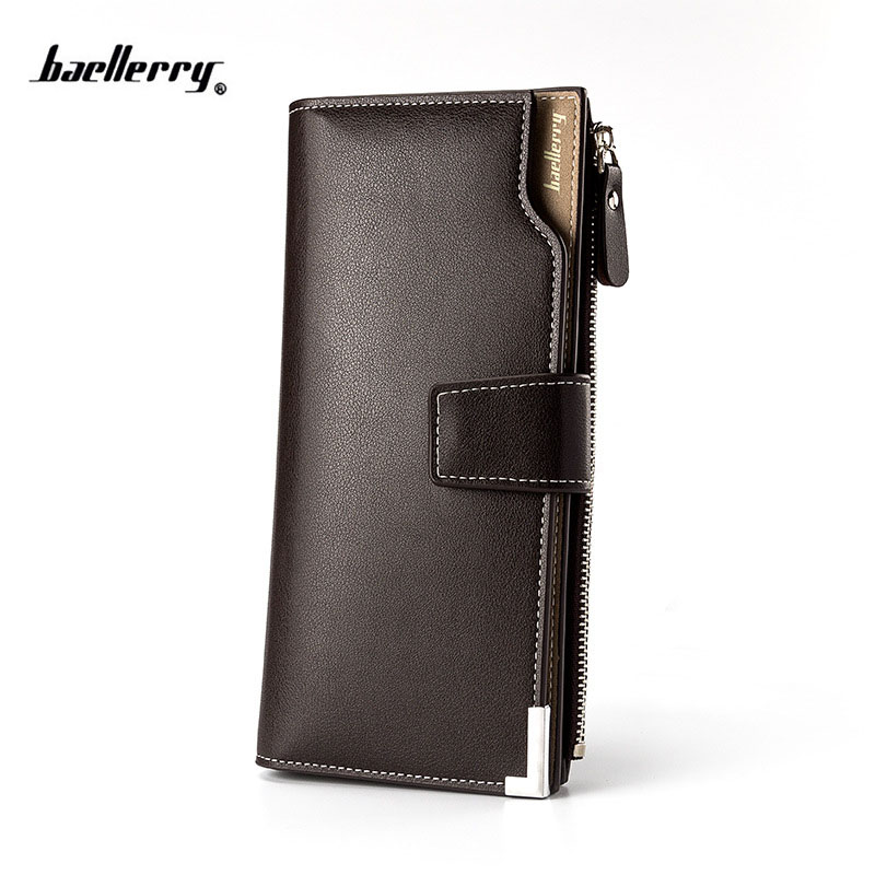 Hot Sale Quality Soft Leather Men Wallets Business Leisure 3 Folds Hasp Zipper Credit Card Holder Wallet purse for male цена