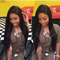 7A Silky Straight Full Lace Wig Peruvian Virgin Hair Straight Glueless Lace Front Wig Human Hair With Baby Hair For Black Women