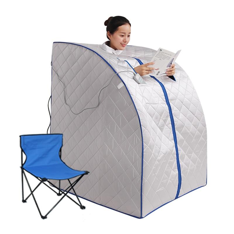 Portable Far infrared sauna box Indoor Personal Spa Sauna with Heating Food Pad  iBeauty TW-PS04L
