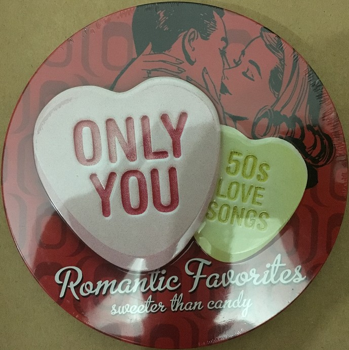 Only You 50s Love Songs NEW CD in Tank Box AUDIO 2CD ...