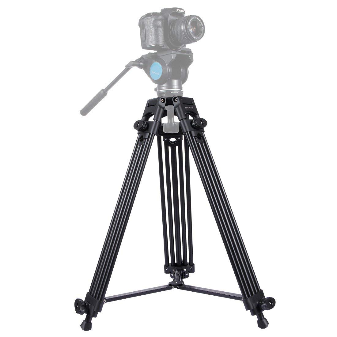 Camera Tripod Professional Universal Heavy Duty Adjustable Aluminum Alloy Tripod Legs for DSLR Digital Cameras & Camcorders