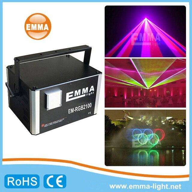סין דיסקו אור 10000 mw 10 w dmx ilda לייזר הצג מערכת עבור בר ולילה מועדון דקורטיבי תאורה