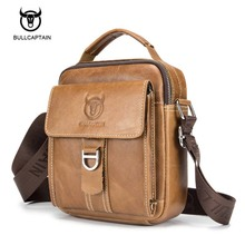 Men Casual Cow Genuine Leather Handbags Shoulder Bag Crossbody Retro Messenger For Male Briefcase Brand Design