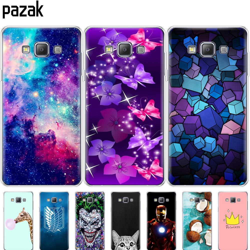 silicone Case For Samsung Galaxy A3 2015 A300 A300F Case Soft TPU Back phone Cover for Samsung A3 2015 A300 fundas protect coque image