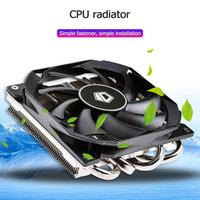 4 Heatpipes Computer Radiator Direct Contact Heat Pipe Efficient Heat Mute CPU Fan Cooler Heatsink Radiation from CPU Direct