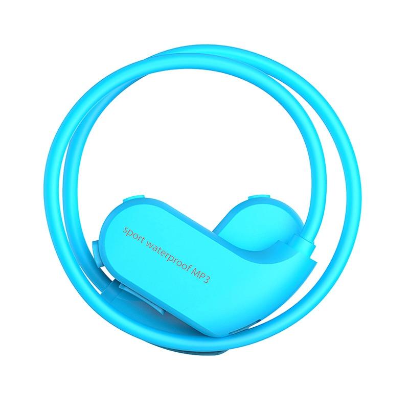 IPX8 HiFi Music 8G Memory Earphones for Swimming Diving Running Dustproof Waterproof MP3 Player Outdoor Sport