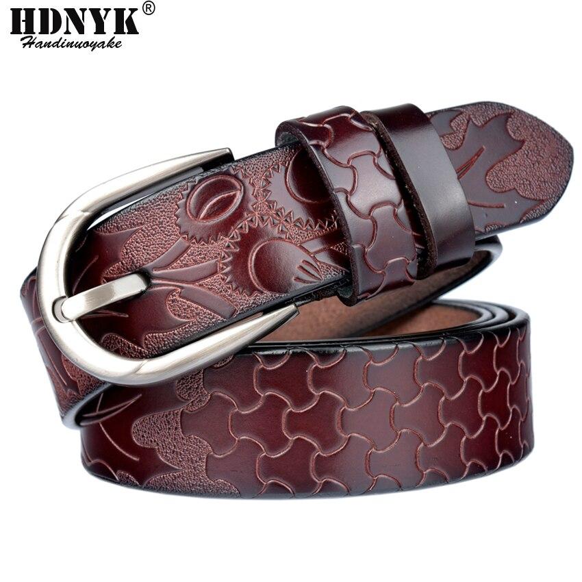 Free Shipping New Brand Designer Women   Belts   Genuine Leather Vintga   Belt   Cowskin Pin Buckle Trouser Strap Pants Band Ceinture