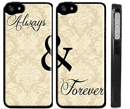 his and hers case always and forever painted hard case for