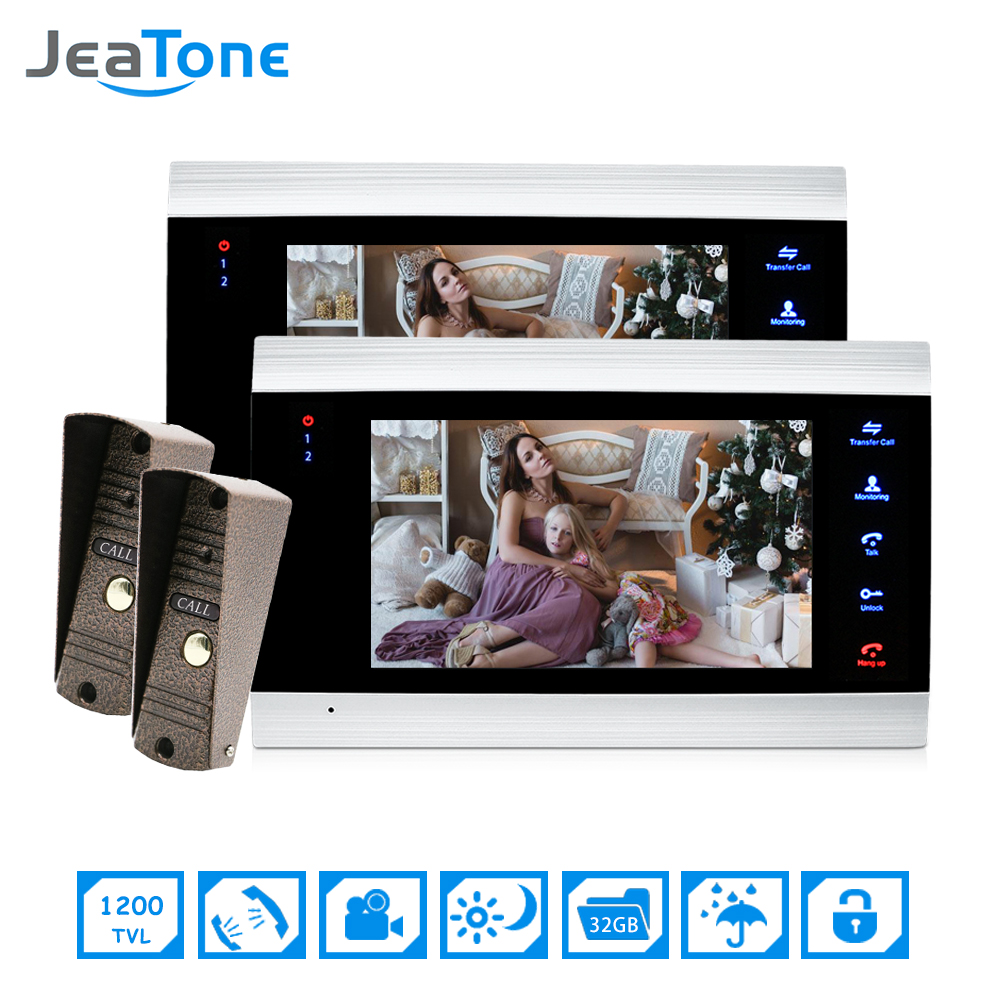 7 Video Door Phone Intercom System On Door Video Intercom Camera Home Security Video Door Phone