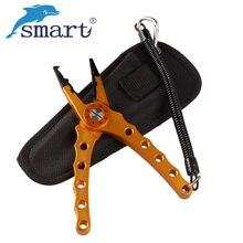 Smart Aluminum Alloy Fishing Pliers Multifunctional Fishing Scissors Line Cutter Remover Hook Alicate Pesca Scissors Pince Peche