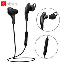 Kobwa Earphone Wireless Bluetooth 4.1 headsets noise canceling Earphone Sports bluetooth4.1 CSR8645 aptX 120mAH magnetic earbuds