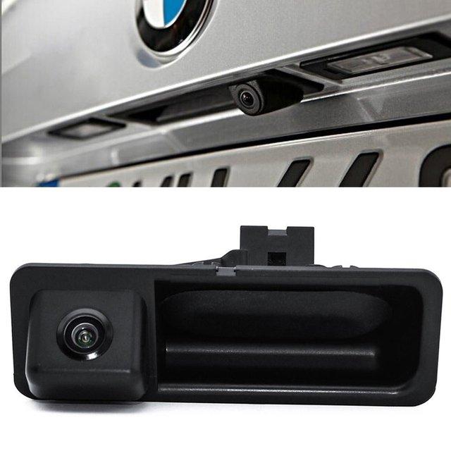 Магистральные ручка автомобиля заднего вида Камера для BMW 5 серии X3 x1 X5 X6 F10/F11/F25/ f30 Обратный Парковка 170 градусов