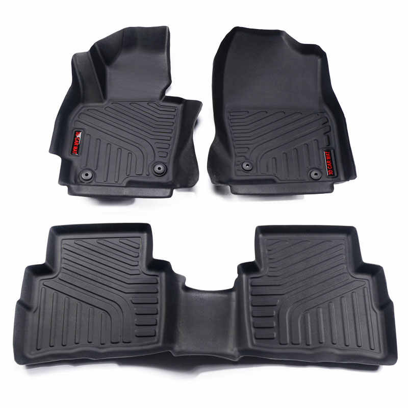 Floor Mats Compatible For 2016 2019 Mazda Cx 5 Gen Front And