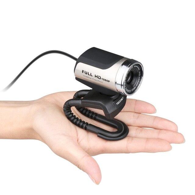 TeckNet 1080P HD Webcam with Built-in Noise-cancelling Microphone 1980x1080 Pixels USB Web Camera for Desktop Laptop Notebook PC 2