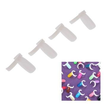Professional Acrylic Nail Art Display Tips Practice Polish UV Gel Color Ring Board DIY Tool Set