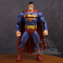 "Figuras de acción de DC, Superhéroes, Fat Batman, Superman, modelo coleccionable de PVC, juguete de 7 "", 18cm"