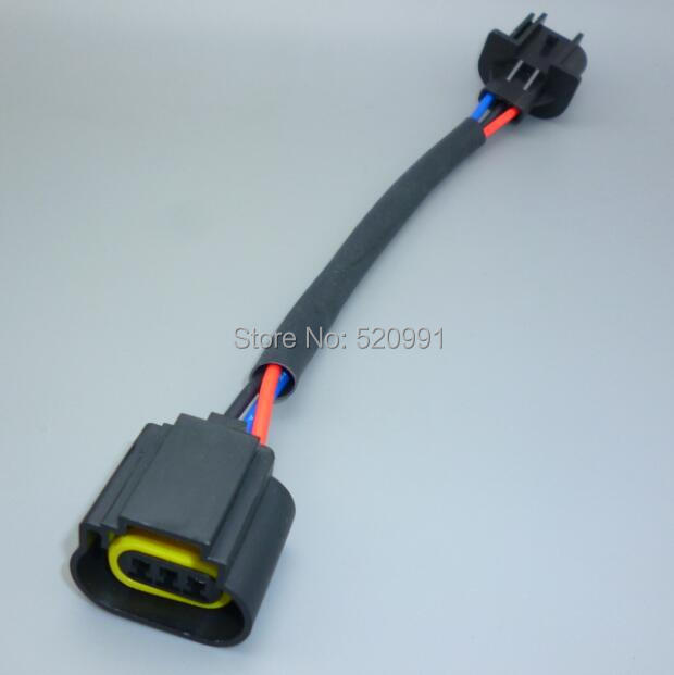 Shhworld Sea 1 шт. H13 9008 лампы для фар мужские и женские провода жгут разъем вилка подключения гнездо адаптеры H13 держатель лампы