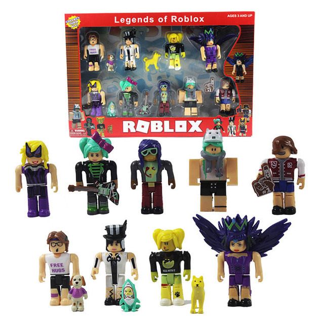 4/6/9pcs Roblox Characters Figure 7/7.5cm PVC Game Figma Oyuncak Action Figuras Toys Boy Backpack  Children Party Birthday Gifts 1