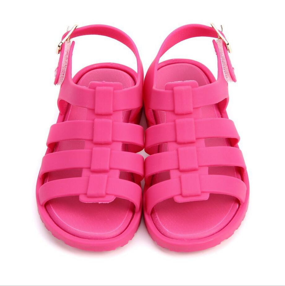 Mini Melissa Girks Roman Sandals Kids Jelly Shoes Sandals ChildrenS Roman Shoes Kids ANTI SIKD Shoes US 6-11 Size