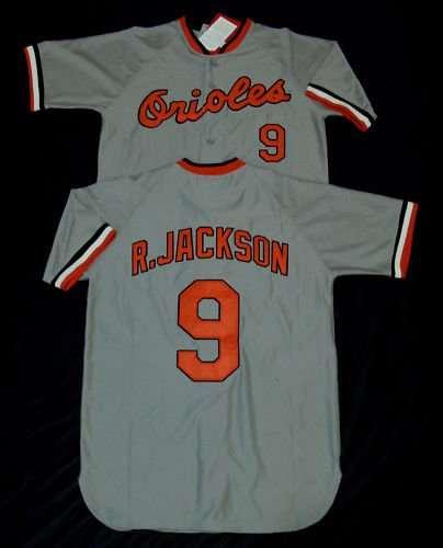 the latest a920a ea087 Baltimore Orioles Throwback Jerseys #9 Reggie Jackson Blue ...