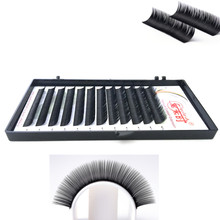 10 Trays/lot 0.05 B/C/D Curl Individual Lashes Eyelashes Extension 3D volume Korea Silk Mink Free Shipping