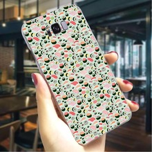 Sushi food Hard Case for Samsung Galaxy M10 Slim Phone Cover S10 Note 8 9 Cases Back