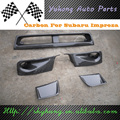 Auto Parts -  AIR DUCTS SIDE VENTS LOWER GRILLE For IMPREZA 10 GRB STI HATCHBACK FRONT BUMPER