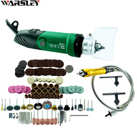 6mm 480W High Power Mini Dremel Accessories Regulating Speed Drill Grinder Electric Grinding Milling Polishing Drill