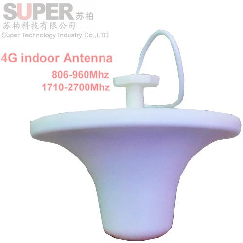 Para rusia gran tamaño interior 808-2700 Mhz LTE FDD 4G antena antena GSM WCDMA booster antena 4G de la antena de techo para los repetidores