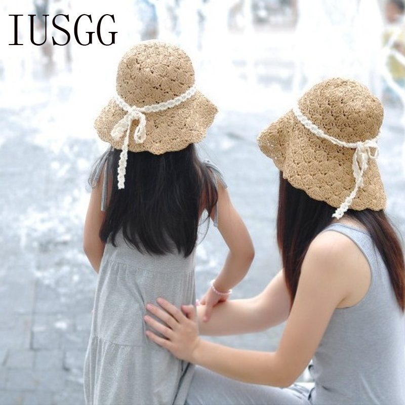 dad4d7c54b596 Lady Sun Caps Ribbon Round Flat Top Bow Tie Straw Beach Hat Panama Summer  Hats For Women Casual Solid Straw Hat Snapback GorrasUSD 8.59 piece
