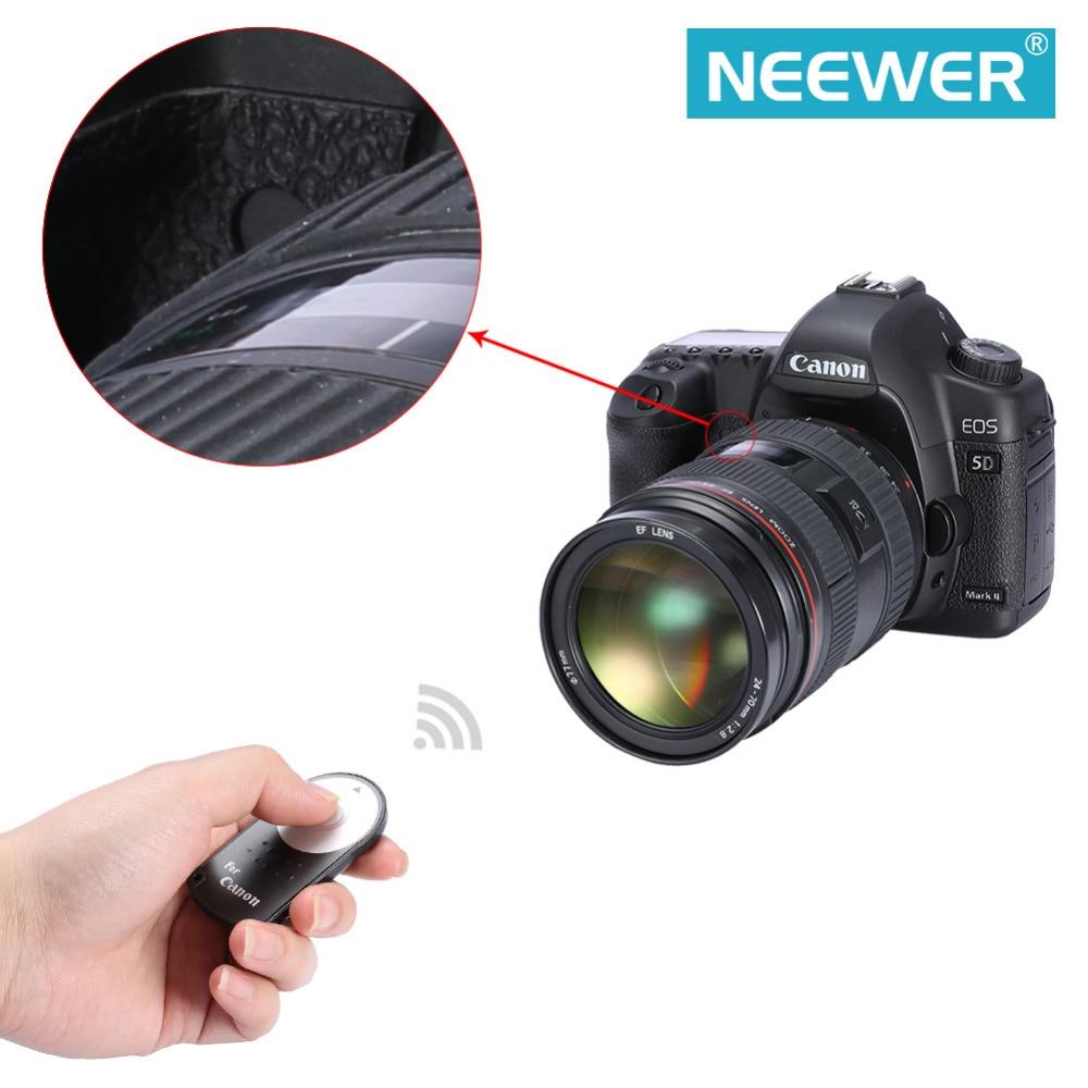 Neewer 2 Pack IR Wireless Remote Control Shutter Release for Canon EOS 60D 70D 7D Rebel T5i, T4i, T3i, T2i, T1i, XSi, Xti, XT