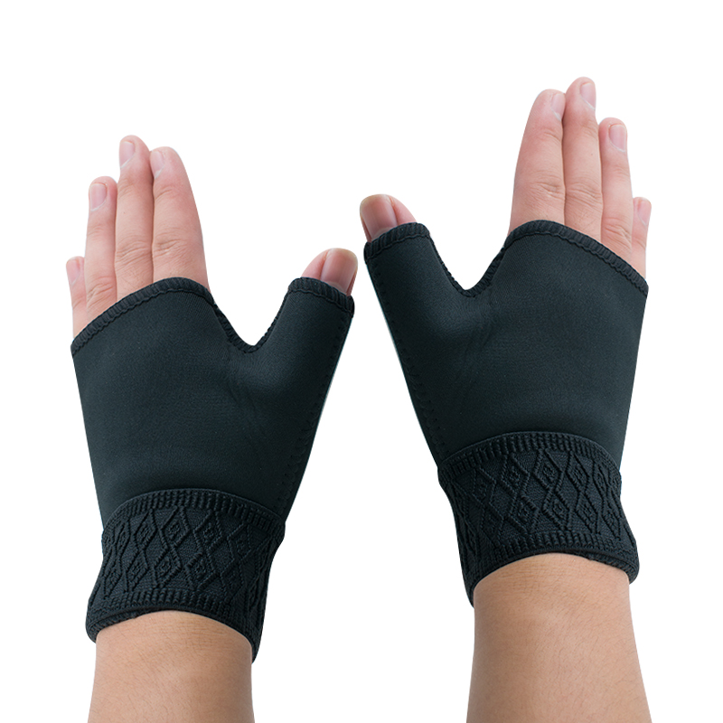 1Pair Support Gloves Arthritis Carpal Tunnel Weak Hand Wrists Pad Aching Compression