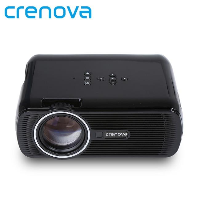 Crenova xpe460 cine en casa cine 1080 p hd hdmi usb vídeo digital portátil lcd llevó el mini proyector proyector beamer projetor