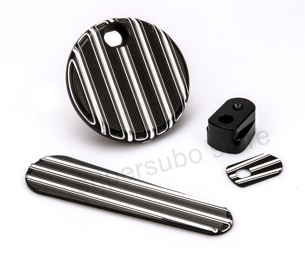 CNC Black Dash Insert harley electra glide Fuel Door street glide Ignition Switch Cover harley road king FLHX FLTRX 2014-2017 взрослое термобелье фуфайка keepdry 500