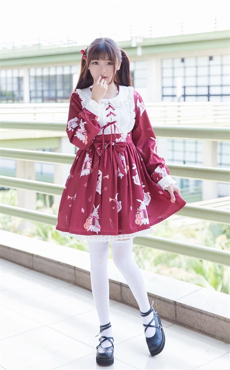 Kawaii Clásico Lolita Vestido 2018 Nuevo Japonés Niñas