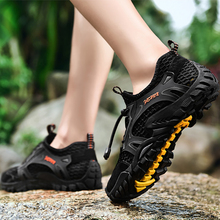 New Men's Outdoor Non-slip Wear-resistant Breathable Quick-drying Shoes Men's Casual Shoes Men's Hiking Shoes Tenis Masculino