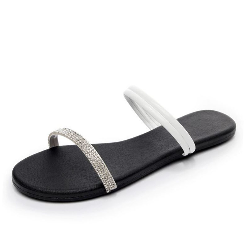 JOJONUNU Women Open Toe Flats Sandals