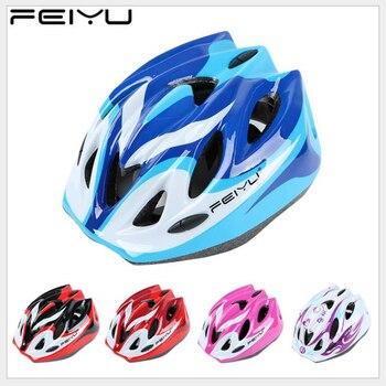 FEIYU Children Roller Skate Protective Helmets PVC Outdoor Sports Safety Helmet Cycling Scooter Skateboarding Helmet