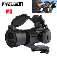 Hunting Accessories AT M3 Optical Sight Red Dot Scope Collimator Rifle ShootingL di Montaggio Per Airgun Air